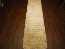 Romany Washables Runner/Mats 60x220cm Aprox 7ft Sparkle Design Cream/Gold New